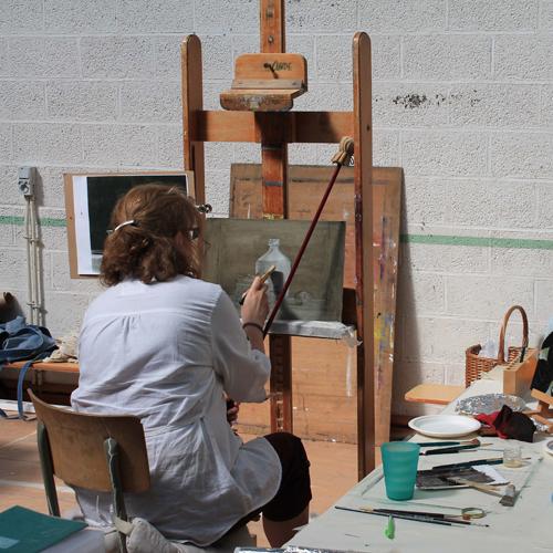 Techniques de la peinture à l'huile (peinture ancienne)