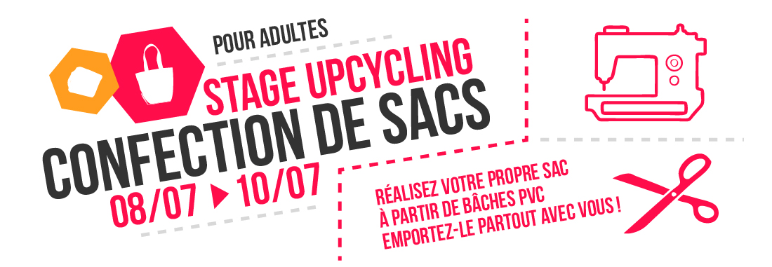 Confection de sacs – stage upcycling