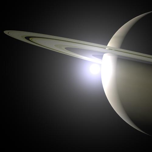 Balade au royaume du Seigneur des Anneaux : mystères et merveilles des mondes de Saturne