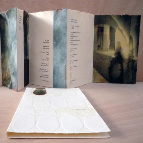 Livre d'artiste pour dépeindre la ville