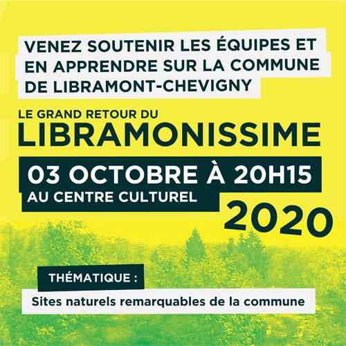 Le Libramonissime 2020 – Reporté à octobre 2021