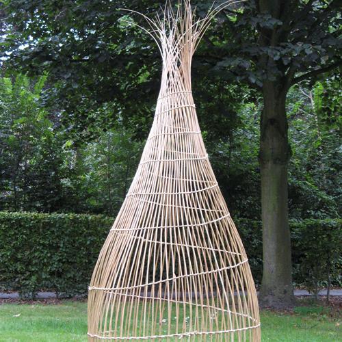 Sculptures et installations en osier