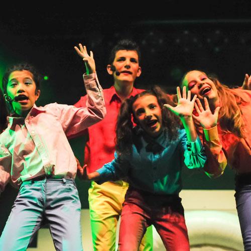Comédie musicale : joue, chante et danse