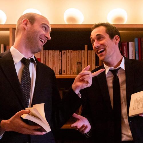 L'excellent salon littéraire de l'inénarrable Dr. Johnson et du délectable Pr. Schmuns